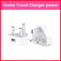 apple hong kong - Triangle British regulation Hong Kong charger Apple V A USB charging head plug A Three Foot Rules Wall Chargers For Iphone