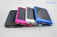 Wholesale 500PCS mah USB Solar Charger Solar Panel Battery Charger power bank External Battery Charger TY