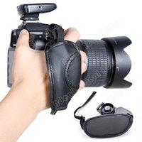 camera hand grip - Camera Hand Grip SLR DSLR Leather Wrist Strap For Canon EOS Nikon Sony Olympus SV010074