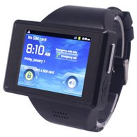 android 4.0 - AOKE Z13 Watch Phone Android inch WiFi GPS Bluetooth Camera Single Sim Card Watch Cell Phone Google Play Store
