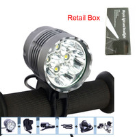LED Headlamp best bike box - Best Headlight Bicycle Lamp in High Power x CREE XM L LED Bike Light lumens retail box