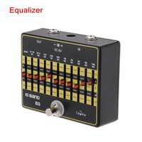 Wholesale New Arrivel Caline CP Band EQ Equalizer Guitar Effect Pedal Aluminium Alloy True Bypass Top Quality