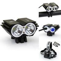 Wholesale LED Outdoor CREE XM L T6 xU2 LED Lumens Owl Dual use Bicycle bike HeadLight Lamp Light spotlight