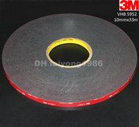 Wholesale 5Roll mm x meter x mm Black M VHB Heavy Duty Double Side Adhesive Acrylic Foam Tape