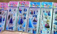 Boys Birth-12 months Plastic cartoon frozen stickers frozen party supplies party favors ELSA ANNA princess classic toys for children baby toy