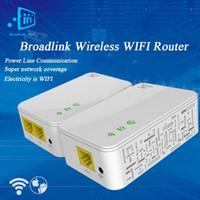 Wholesale Broadlink DNA M Smart Wireless WIFI Router Powerline Carrier Extend Wireless Router WIFI Range Extender Smart Home Automation