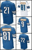 Wholesale DL Elite Football Jerseys Best quality Authentic Jersey Embroidery Logo Size M XL Can Mix Order