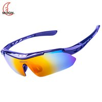 Wholesale MOON Professional Cycling Glasses Mountain Bike Casual Goggles Cycling Eyewear Outdoor Sports Bicycle Sunglasses UV400 TR90 Oculos Cicismo