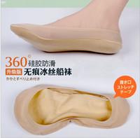 advanced acrylics - Hight Quanlity Ice Silk Sockings pairs Advanced One Chip Cotton Contact Ship Socks C806