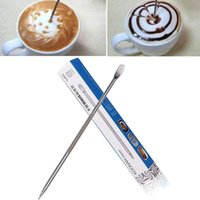 Wholesale 100PCS Barista Coffee Cappuccino Latte Decorating Art Pen Household Kitchen Cafe Tool