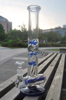 bend pipes - Glass Water Bongs High Quality inline perc glass smoking pipes mm thick joint size mm