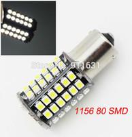 Wholesale Hot Car BA15S P21W LED SMD Led Lights V White Auto Tail Turn Signal Bulb Parking Reverse Lights Lamp