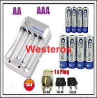 Rechargeable best nimh battery charger - Best quality NEW x V AA mAh x mAh NiMH Ni MH Rechargeable Recharge Battery Charger