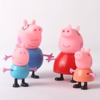 new toys for christmas - Zorn Store PeppaPig cartoon Plastic doll styles play house toys Pepe pig Pink Pig toys for the children Christmas Gifts new
