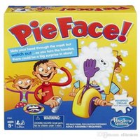 Wholesale Korea Running Man Pie Face Game Pie Face Cream On Her Face Hit The Send Machine Paternity Toy Rocket Catapult Game Consoles DHL