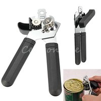tin crafts - New Stylish Strong Heavy Duty Chrome Can Tin Opener Top Quality Stainless Steel Kitchen Restaurant Craft