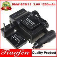 Wholesale Tianfen DMW BCM13E DMW BCM13 BCM13 Camera Battery Charger Car Charger For Panasonic DMC TZ41 DMC TZ40 ZS30 FT5 TS5