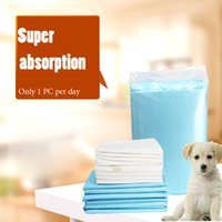 absorbent products - New soft dog disposable diapers super Absorbent pet dog pad puppy cat dog Training diapers dog Indoor Toilet Pads