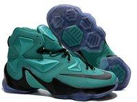 easter baskets - 2016 Lebron Basketball Shoes Sneakers Sports Superstar Mens Man Lebrons XIII LBJ s James Elite Premium Athletics Basket Shoe Blue