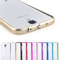 Wholesale IPhone Plus S Metal Bumper Frame Ultrathin Aluminium Alloy Arc Bumper Frame Protector Case Cover For Galaxy S6 Note5 Note iPhone6