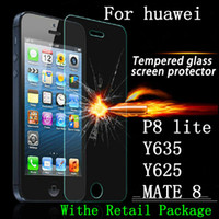 Wholesale For Huawei P8 lite P8 mini P9 LITE Tempered Glass Screen Protector Film For ONE PLUS for lg k3 ls450