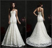 adora wedding dress - Mermaid Wedding Dresses Sweetheart Sleeveless Adora Bridal Gowns Amelia Sposa Sleeveless Crystal Beaded Embroidery Lace Up Back