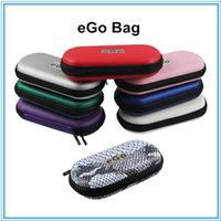 Wholesale eGo Zipper Case Leather Bag For Electronic Cigarette Starter Kit Multi Color Small Medium Large Size for single Electronic Cigarette colorfu
