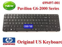 Wholesale Original NEW Pavilion G6 G6 Laptop Notebook US Black Keyboard Tested Working perfect for HP