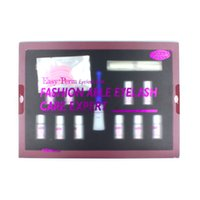 Wholesale Stars Colors Brand Eyelash Perm Kit Eyebrow tint Eyelash Curl MASCARA EYELASHE EXTENSION