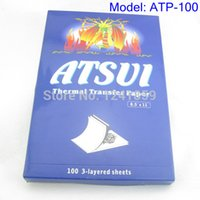 atsui paper - Sheets ATSUI Tattoo Carbon Stencil Thermal Transfer Paper Supply ATP