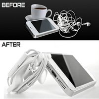 Wholesale Cable bobbin winder Cord Winder Cable Holder for iPhone S S For iTouch With Stand With Retail Box