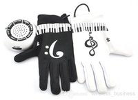 Wholesale Playable Interactive Piano Hand Music Gloves Electronic Exercise Instrument Kit with Built in Speaker Demo Melody Song Box Toy
