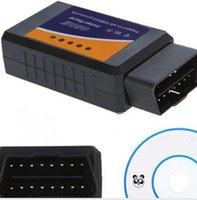 Wifi Voiture Interface de Diagnostic Scanner ELM 327 ELM327 Fiable OBD 2 OBD2 OBDII Protocoles d'outils Auto K658