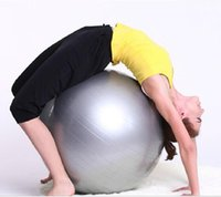 Wholesale Custom design Print logo Fitness pilates yoga ball health balance exercise trainer pilates bosu fitness gym home exercise sport fitball