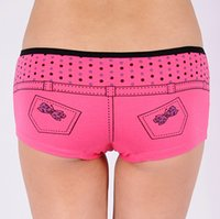 sexy boyshorts - ladies comfortable cotton panty women sexy boyshorts ladies jeans shaped panties
