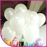 Wholesale helium balloon christmas balloon white color inch gram