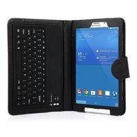 Wholesale For Samsung Galaxy Tab T330 T331 T335 Tablet Silicon Bluetooth Keyboard Teclado Case Cover