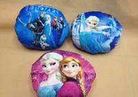 Wholesale 2015 New Children Boys Girls Home Bolster Man Lady Princess Frozen Cushion Women Girl Hand Warm Cushions Cartoon Hands Pillow D3737
