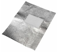 nail kit uv - New Arrive Aluminium Silver Foil Nail Wraps For Women Beauty Nail Art Soak Off Acrylic UV Gel Polish Remover Tools