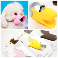 Wholesale Anti barking pet dog masks muzzle dog muzzle anti bite silicone masks factory direct Shelf