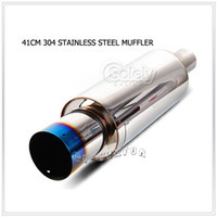 Wholesale COOLEST H KS quot Hi Power Burnt Tip Stainless Steel Exhaust Muffler Tail Pipe