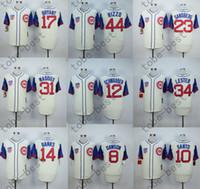 baseballs kyle - Chicago Cubs Jersey Anthony Rizzo Jersey Kyle Schwarber Kris Bryant Jon Lester Cream Stitched Baseball Jersey