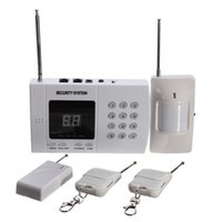 advanced alarm technologies - LED Wireless Advanced Sensor Technology Security Safely Completely Autodial Phone Burglar Home Security Alarm System