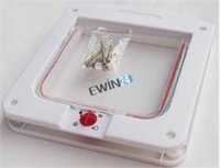 Wholesale 4 Way Locking Pet Dog Cat Flap Door Doggy Lockable Magnetic Tunnel Frame S M L