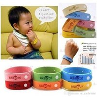 Wholesale Mosquito Repellent Band Bracelets Anti Mosquito Pure Natural Baby Wristband Hand Ring DHL Free ship