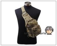 Wholesale Airsoft Tactical D Nylon Shoulder Bag Backpack Military Combat Hunting Pack Pouch For Mens Outdoor Hiking Biking Chest Bag