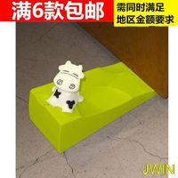 Wholesale Silicone Creative Cartoon Cow Door Stopper Door Card Hand Pinch The Baby Safety Gate Crash Door Stopper piece