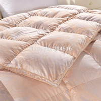 Wholesale queen king size Goose Down quilted Quilt nobility Tyrant gold winter Comforter Duvet Filler Blanket Filling