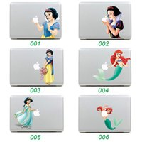Wholesale Colorful Cartoon Laptop Skin Sticker For Apple MacBook Air Pro Retina Inch Notebook Decor Decal Style