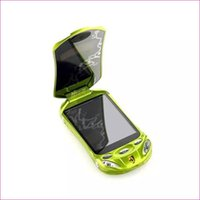 car radio with mp3 player - Flip unlocked dual sim cards android smart super car model mini mobile cell phone F16 P433